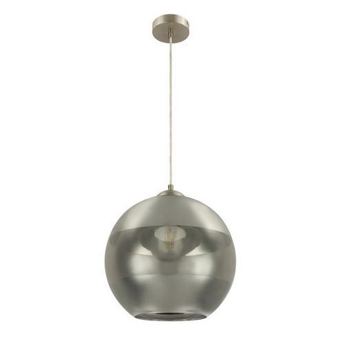 Lampa wisząca Globo Sanza 15310H lampa sufitowa zwis 1x40W E27 nikiel mat / dymiony