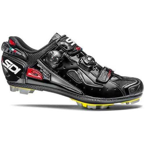 dragon 4 carbon srs buty mężczyźni czarny 42 2018 buty mtb zatrzaskowe marki Sidi