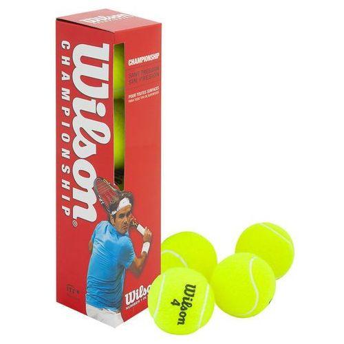 Piłki tenis ziemny Wilson Champ Press 4 sztuki 132400