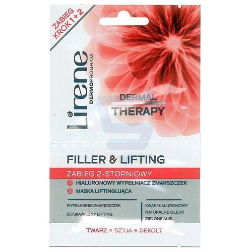 Lirene  dermal therapy zabieg 2-stopniowy filler & lifting 2 x 6 ml