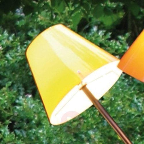 Top light Żółty klosz do lampy zewnętrznej octopus outdoor