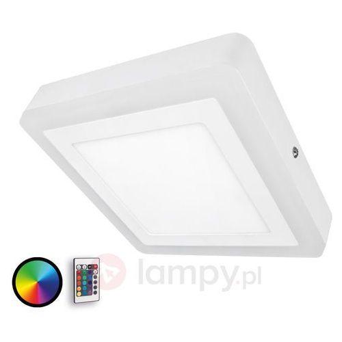 Lampa sufitowa LED OSRAM LED COLOR WHITE SQ OSRAM 4052899448148, LED wbudowany na stałe, 19 W, 780 lm, 3000 K, (DxSxW) 19.8 x 19.8 x 3.8 cm, biały, LED COLOR WHITE SQ OSRAM