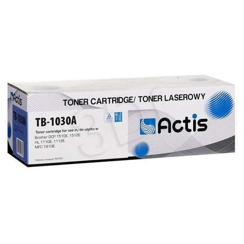 Actis Toner tb-1030a (do drukarki brother, zamiennik tn-1030 supreme 1500str. czarny)- wysyłamy do 18:30 (5901443097372)