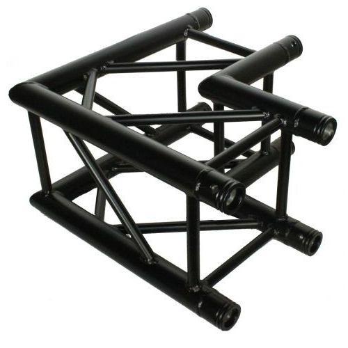 dt 34/2-c21-l90-bk czarny element konstrukcji aluminiowej, narożnik 90st marki Duratruss