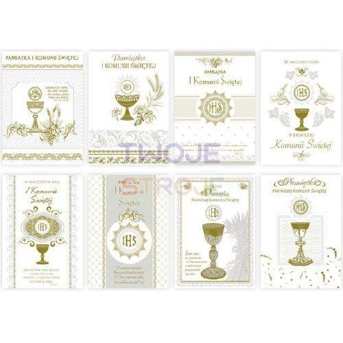 KARTKA KOMUNIJNA ZŁOCONA B6Z 1szt (5906664003010)