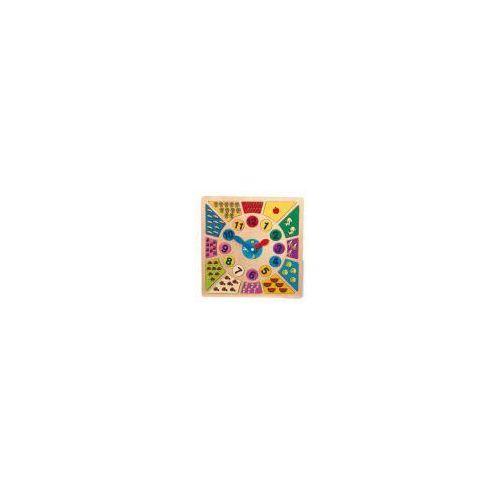 Zegar edukacyjny, różnobarwny marki Small foot design