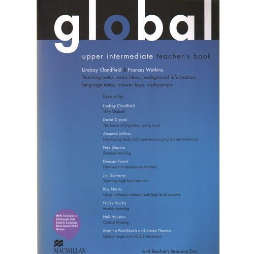 Global Upper Intermediate Książka Nauczyciela Plus Płyta Resource CD, Rebecca Robb Benne