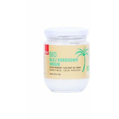 Olej kokosowy virgin bio 200 ml / 184 g marki Rish