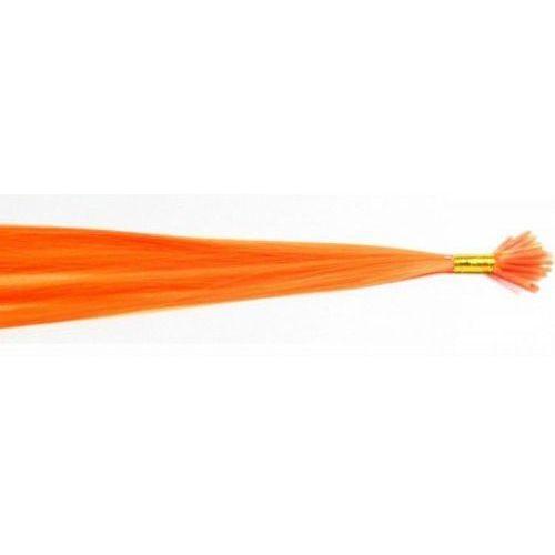Włosy na zgrzewy syntetyczne - Kolor: #orange - 20 pasm
