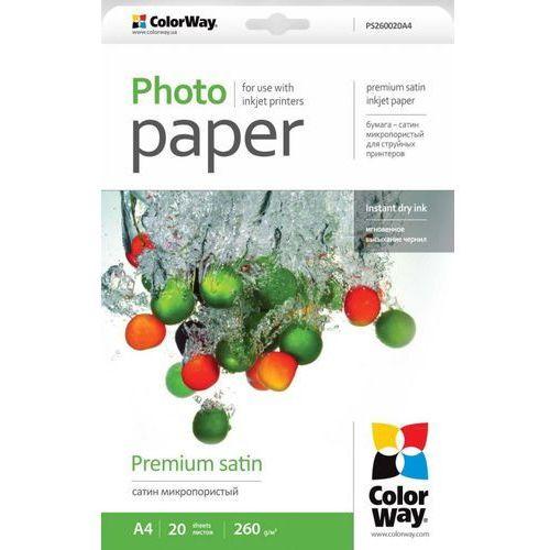 ARSEJ Papier Fotograficzny ColorWay Satyna 260g/m A4