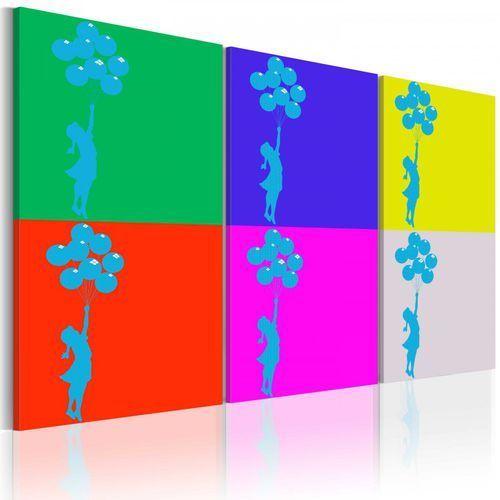 Artgeist Obraz - kolory dzieciństwa (60x30 cm)
