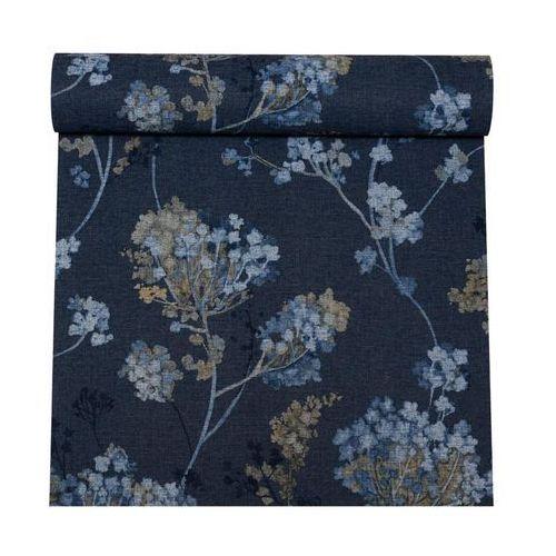 Rasch Tapeta florentine liście niebieska winylowa na flizelinie (4000441449280)