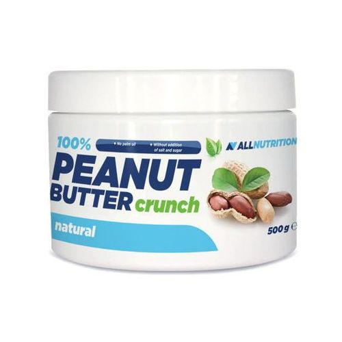 100% peanut butter masło orzechowe crunchy 500g marki Allnutrition