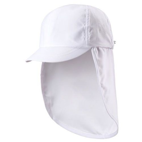 Czapka przeciwsłoneczna  uv alytos biała, osłona karku marki Reima