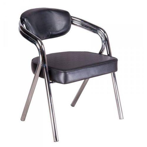 Vanity_b Krzesło do poczekalni br-4511 czarne