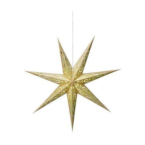 Markslojd 703551 gwiazda świąteczna elin wisząca 75cm złota