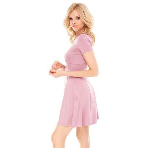 Sugarfree Sukienka nadia w kolorze różowym