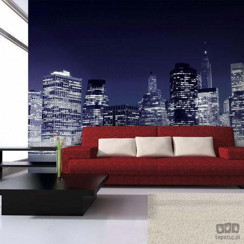 Fototapeta Nocna panorama Manhattanu, New York City 100404-23, 100404-23