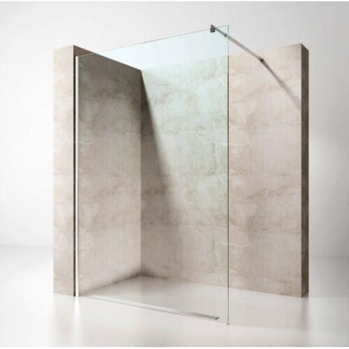 Wolnostojąca ścianka prysznicowa walk-in transparentna 8mm lub 10mm marki Swiss liniger