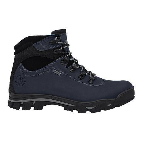 Trzewiki trekkingowe BADURA 4611-434 Granatowe SympaTex