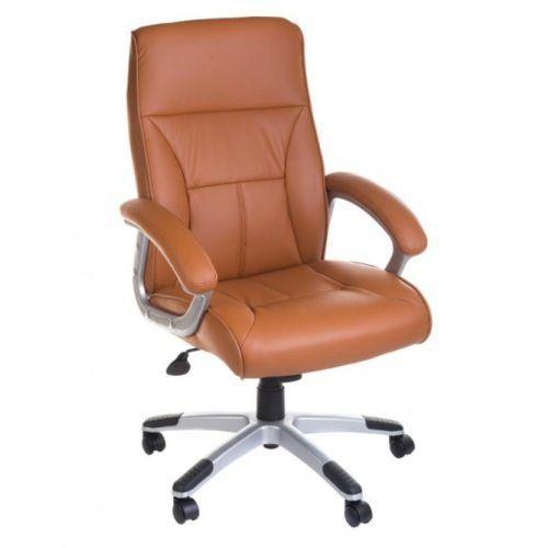 Fotel bx-5085b brązowy marki Corpocomfort