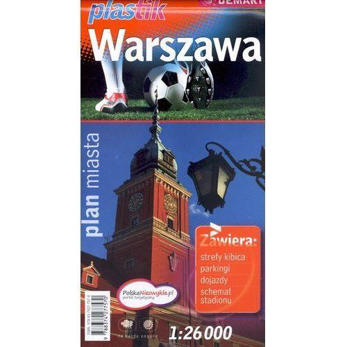 Warszawa plan miasta 1:26 000 (9788374277570)