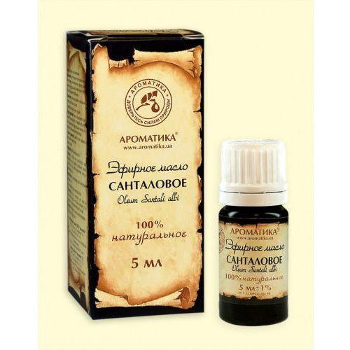 Eteryczny olejek z drzewa sandałowego 10 ml. marki Aromatika