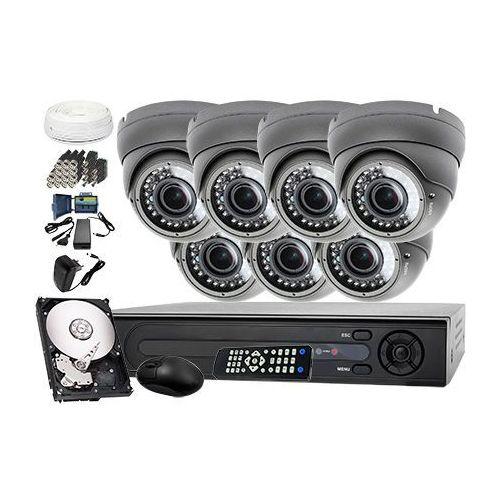 Zestaw do monitoringu: Rejestrator LV-XVR84+ 7x Kamera LV-AL40HVD + dysk 1TB + akcesoria