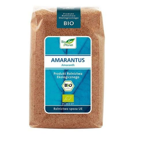 Bio Planet: amarantus BIO - 500 g (5907814663207)