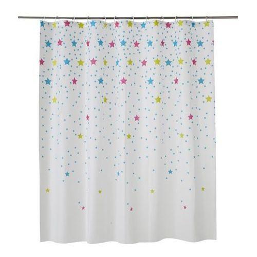 Zasłonka prysznicowa bhama 180 x 200 cm marki Cooke&lewis