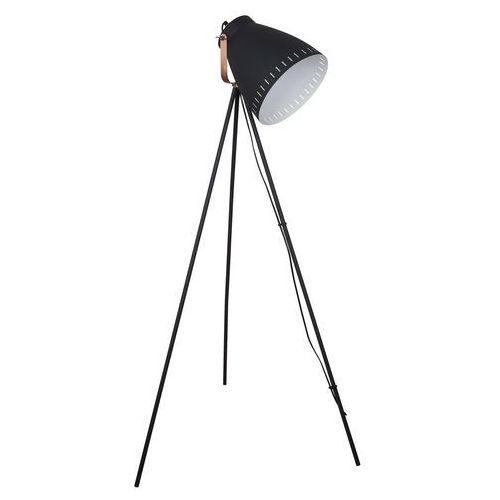 Franklin lampa podłogowa 1-punktowa czarna ML-HN3068-B+RC, ML-HN3068-B+RC