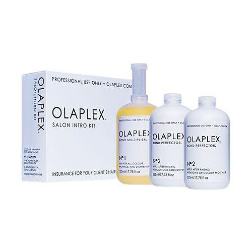 salon intro kit, zestaw do profesjonalnej regeneracji włosów. marki Olaplex