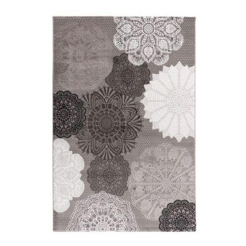 Dywan Tivoli 120 x 170 cm wzór szary (5907736254507)