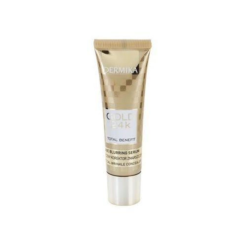 Dermika Gold 24k Total Benefit serum odmładzające przeciw oznakom starzenia (Reduces Visibility of: Wrinkles, Discolorations, Dilated Skin Pores, Matt