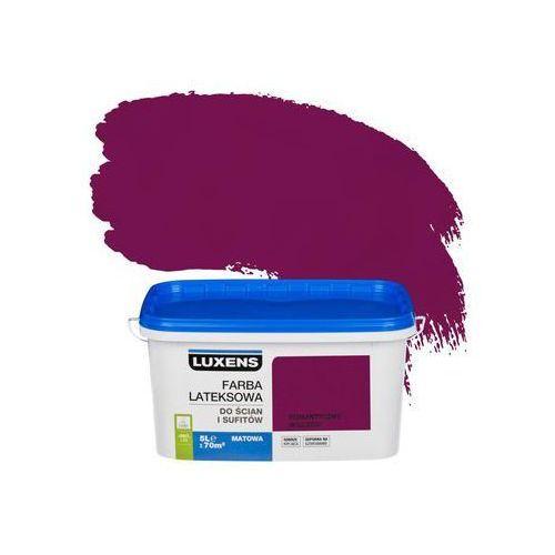 Farba wewnętrzna do ścian i sufitów emulsja 5 l romantyczny wieczór marki Luxens