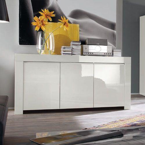 Amaretto biała włoska lakierowana komoda 3d marki Fato luxmeble