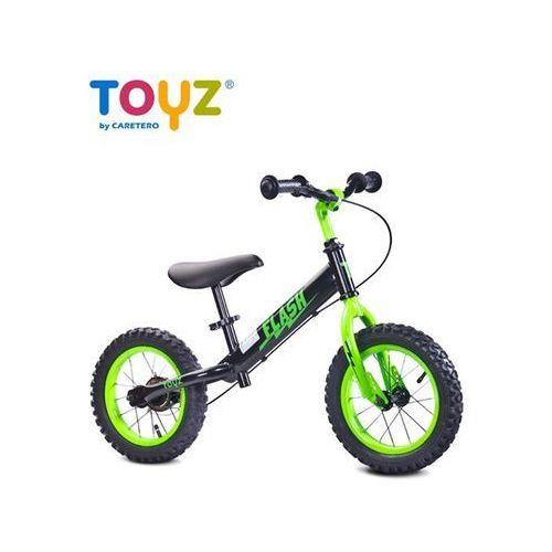 Toyz Rowerk biegowy metalowy  flash black-green - 2 jakość