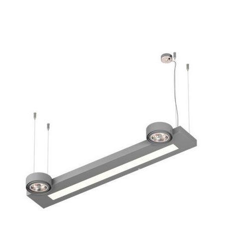 Lampa wisząca daltec d1whs qr111/tl5, t047d1whs+ marki Cleoni