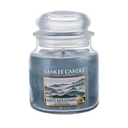 Yankee home Świeca yankee słoik średni misty mountains - yssmm