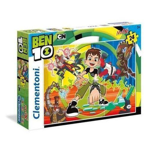 24 elementy MAXI Super Kolor Ben 10