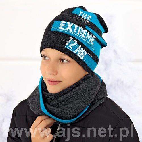 Ajs Komplet 36-490 czapka + tunel rozmiar: uniwersalny, kolor: wielokolorowy, ajs