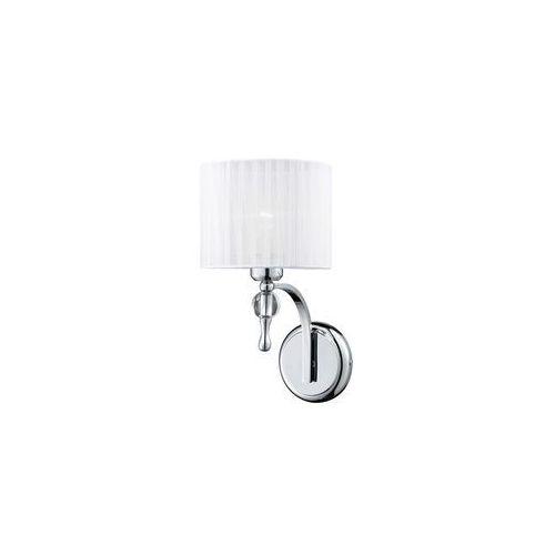 impress az0503 1976-1w wh kinkiet lampa ścienna 1x60w e27 biały + żarówka led za 1 zł gratis! marki Azzardo