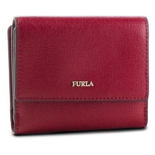 Mały portfel damski - babylon 993875 p pz57 b30 ciliegia d marki Furla