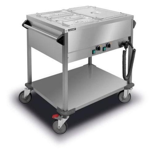 Bemar elektryczny jezdny 2xGN 1/1 200 mm LOZAMET BJN.2GN