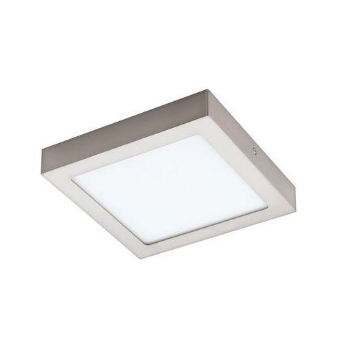 Plafon LAMPA sufitowa FUEVA 1 94526 Eglo natynkowa OPRAWA LED 16W kwadratowa nikiel satynowany