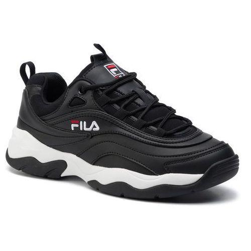 Sneakersy - ray low 1010561.12a black marki Fila