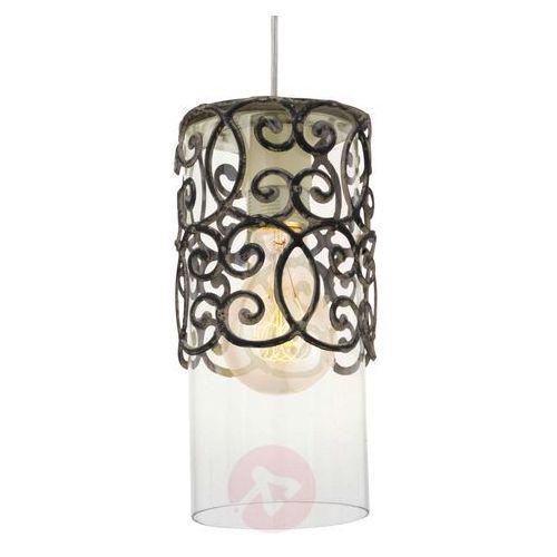 Eglo 49201 - lampa wisząca vintage 1xe27/60w/230v