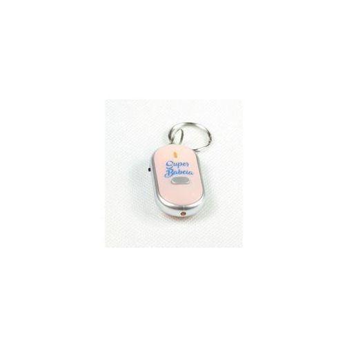 Lokalizator do kluczy Super Babcia różowy (5903420756906)