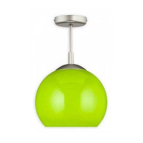 Kula otwarta d30 lampa sufitowa 1-punktowa zielona o1836 w1 k_4 marki Lemir