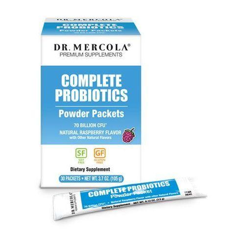 Proszek Synbiotyk (probiotyk+prebiotyk) w proszku o smaku malinowym (dr Mercola)